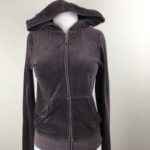 juicy couture women's  zip up pocket hoodie SZ/M